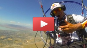 Chris Santacroce, a paraglider from the greater Salt Lake City area dropped his Speck protected iPhone 5 from 2,000 ft in the air