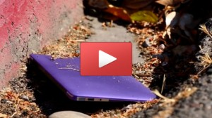 Laura Hamber's MacBook Air is saved by her Speck case