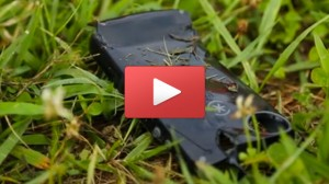 Scott Moore spent July 4th weekend doing yard work, but ended up running over his iPhone encased with a CandyShell