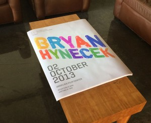 Image of the Poster for Bryan Hynecek's Talk at DSVC