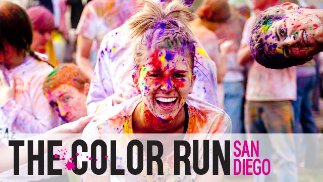 Speck Products at the Color Run in San Diego