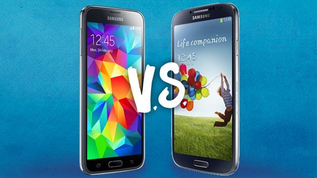 Samsung Showdown: Galaxy S5 v. Galaxy S4