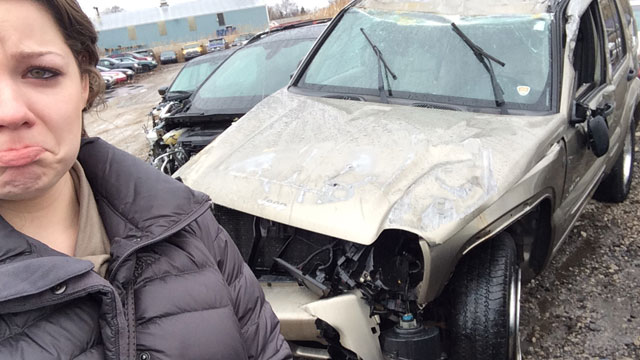PJ Anthony survived a rollover car crash, and, thanks to Speck, so did her laptop