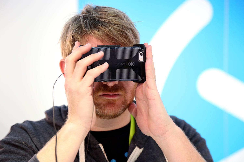 Pocket VR in Use