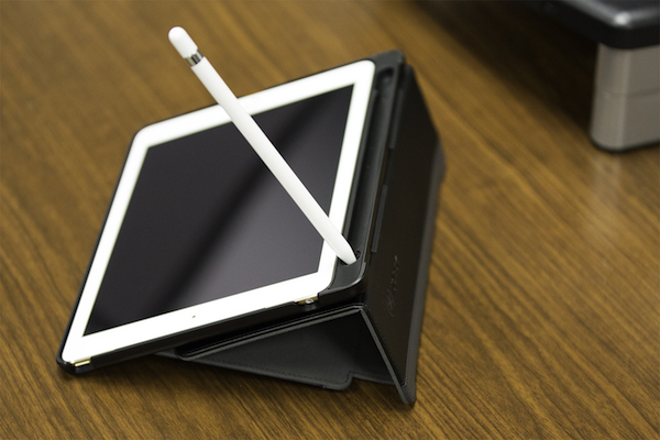 StyleFolio Pencil case for iPad Pro with Apple Pencil.
