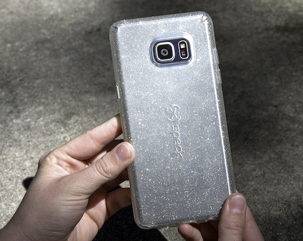 CandyShell Clear Glitter Note7 Case