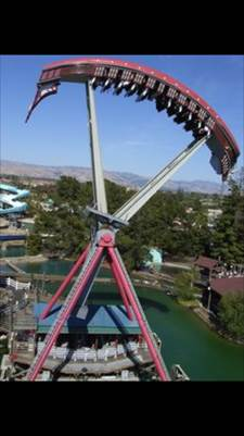 Image for Great America amusement park ride