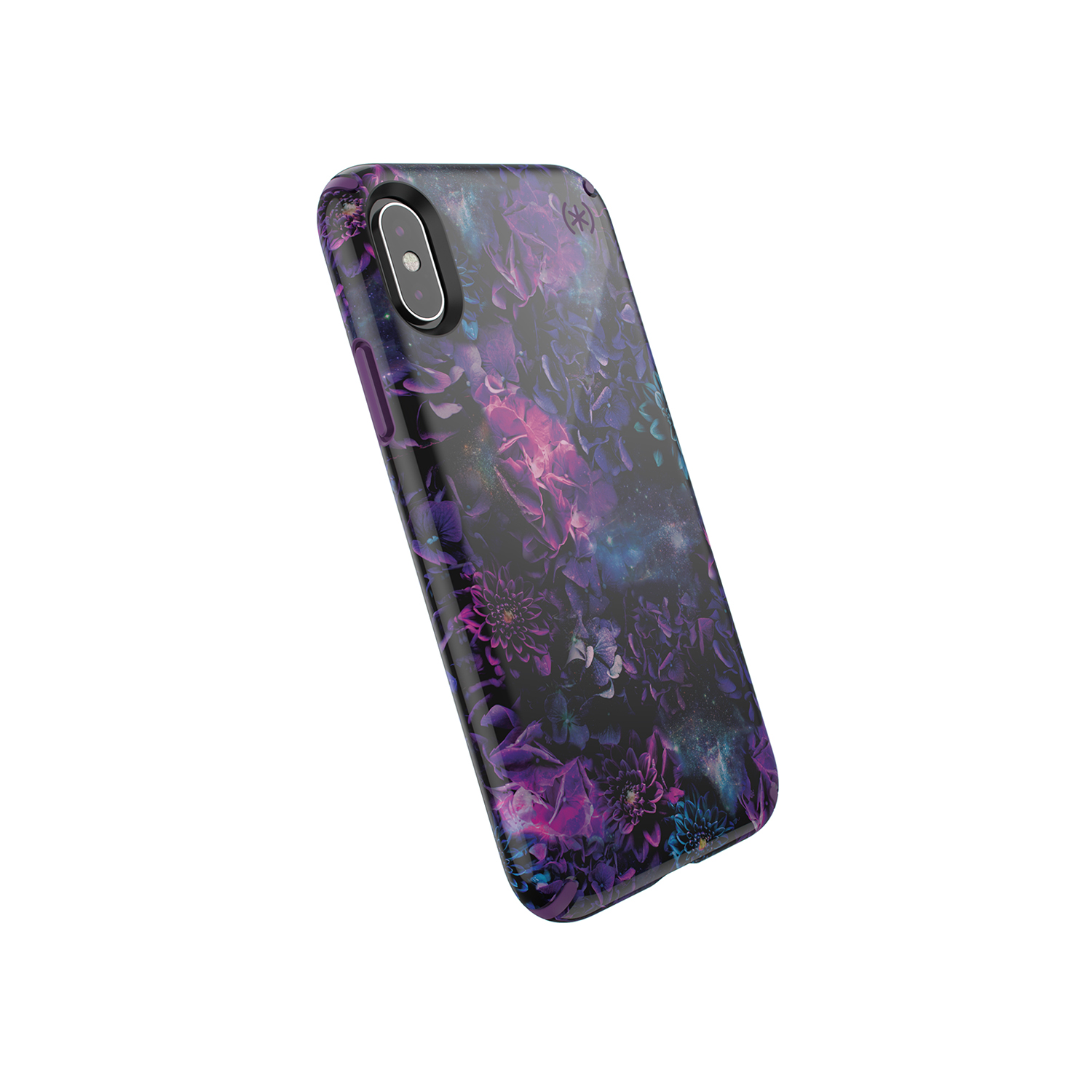 Presidio INKED Galaxy Floral case for iPhone XS