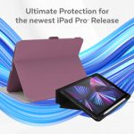 Protective cases for the 2021 iPad Pro 11-inch, and 2021 iPad Pro 12.9 inch.