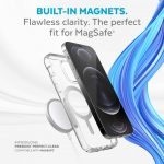 Built-in Magnets. Flawless clarity. The perfect fit for MagSafe. Introducing Presidio Perfect-Clear Compatible with MagSafe.